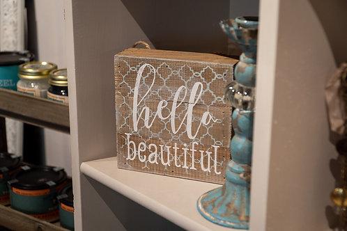 Hello Beautiful box