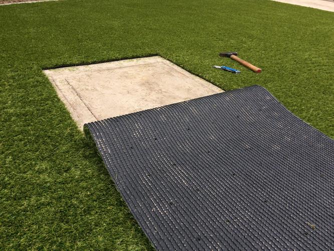 Onzichtbare oplossing voor putdeksel