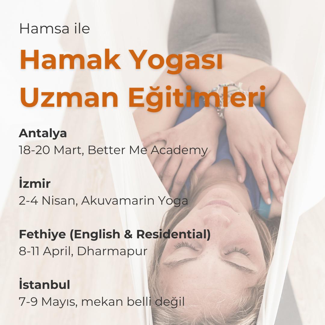 Hamak Yogası Uzman Eğitimi - İstanbul