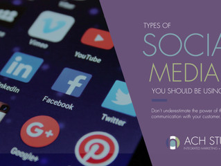 Three Types of Social Media Any Business Should Be Using