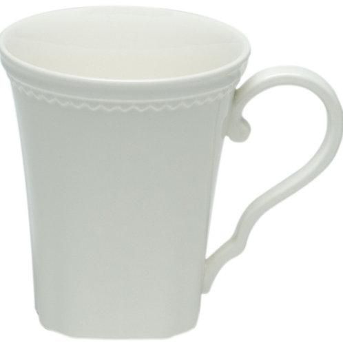Classic White Mugs 14oz Set/4