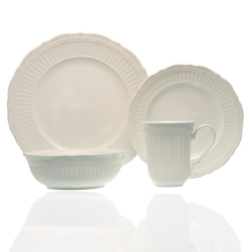 Tuscan Villa 16Pc Dinner Set with Coupe Bowl
