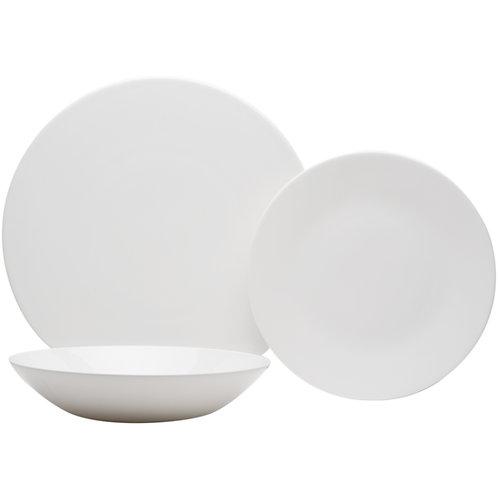 Extreme White Round 18Pc Dinner Set