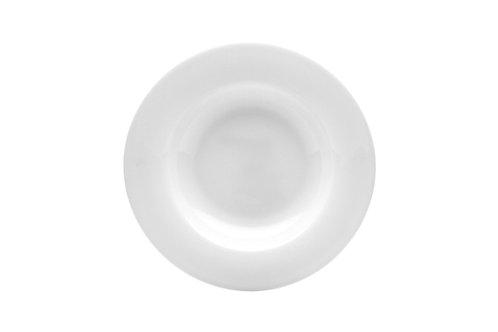 Pure Vanilla Rimmed Soup Plate 8oz