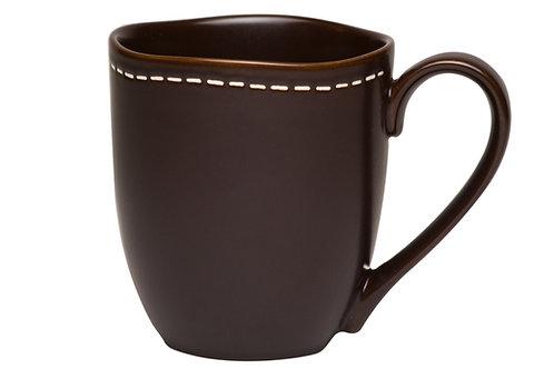Vanilla Saddle Stitch Mug 12oz