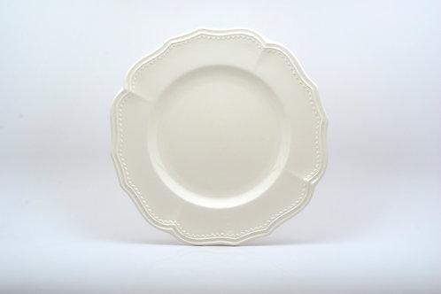 Classic White Round Platter
