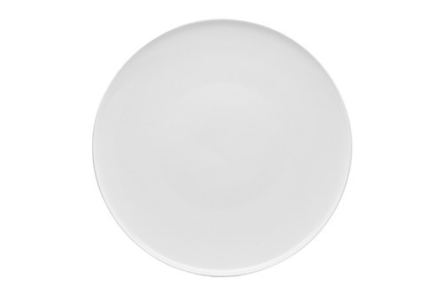 Every Time White Coupe Dinner Plate 11""