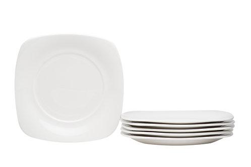 Hospitality White Square Salad Plate