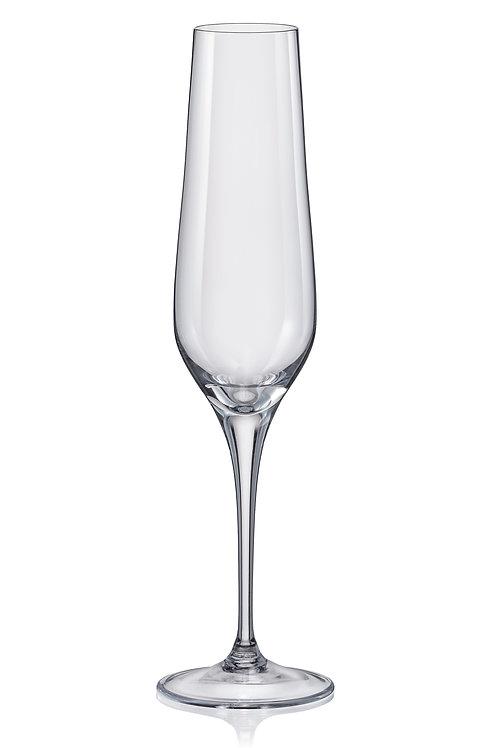Rebecca Fluted Champagne 195ml Set/6