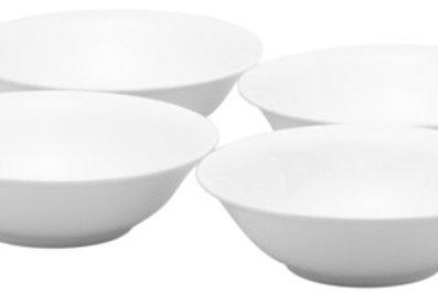Pure Vanilla Cereal Bowls 20oz Set/4