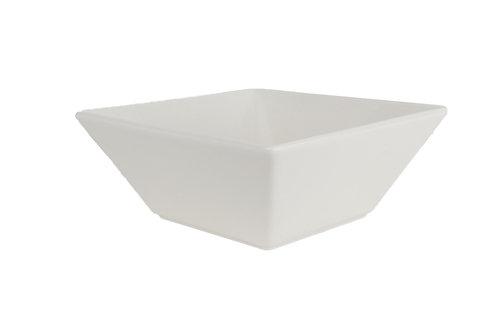 Soho White Square Cereal Bowl 32oz
