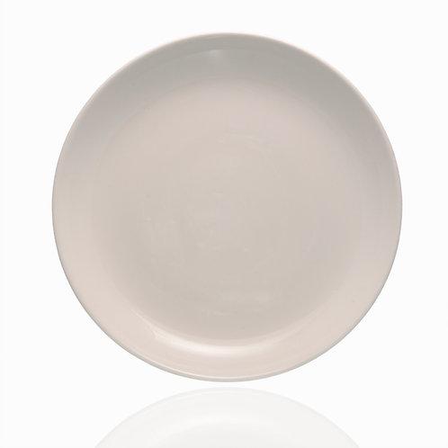 Forte White Brunch Plate