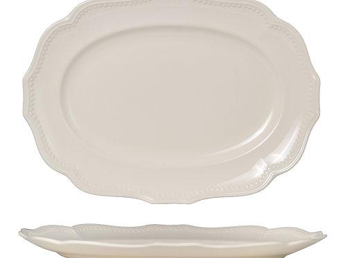 Classic White Oval Platter