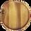 Thumbnail: Natura Acacia Wood Round Serving Chargers Set/4