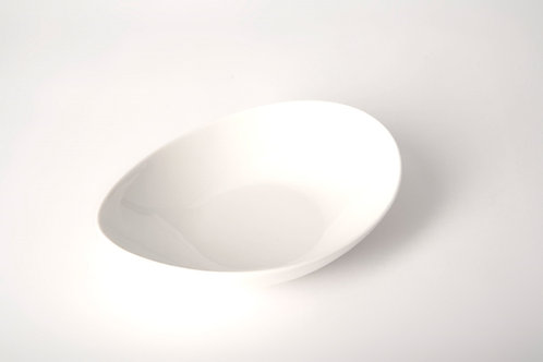 "Whisper White Coupe Pasta Bowl 9"""