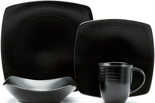 Black Rice 16Pc Dinner Set