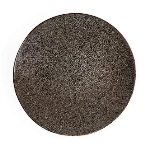 Organic Art Grey Coupe Service Platter