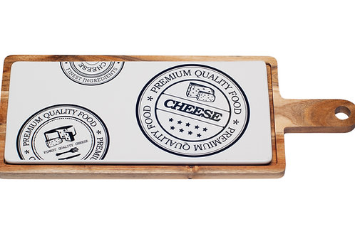 Vanilla Slice Paddle Cheese Serving Board