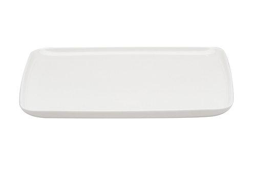 Every Time White Rectangular Dinner Plate