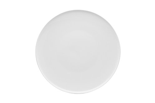 """Every Time White Coupe Salad Plate 8.5"""""""