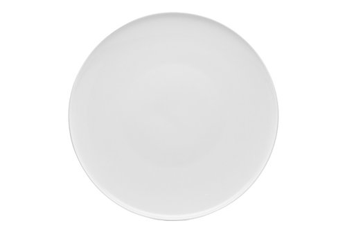 """Everytime White Coupe Platter 12"""""""