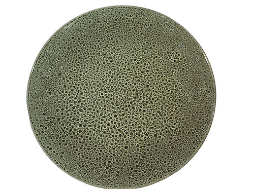 Organic Art Green Coupe Service Platter