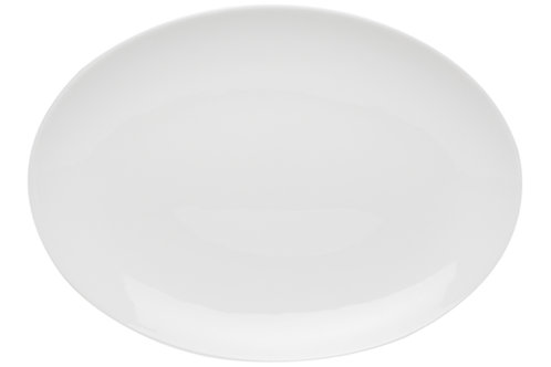 Pure Vanilla Coupe Oval Platter