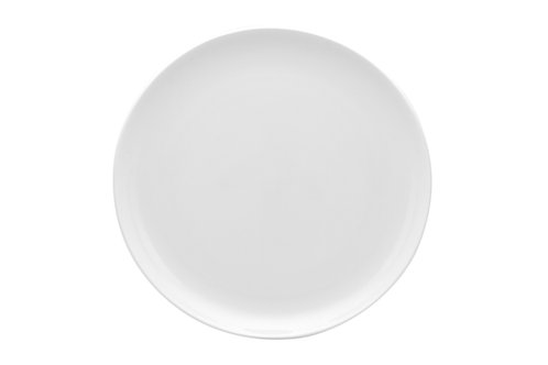Pure Vanilla Coupe Oversized Dinner Plate