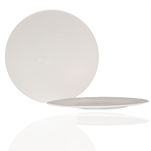 Extreme White Round Service Plate