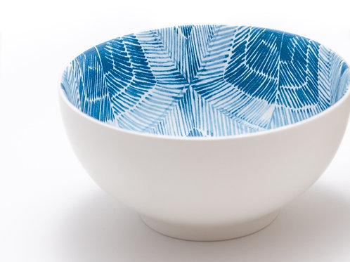 Linear White Cereal / Pasta Bowl 30oz