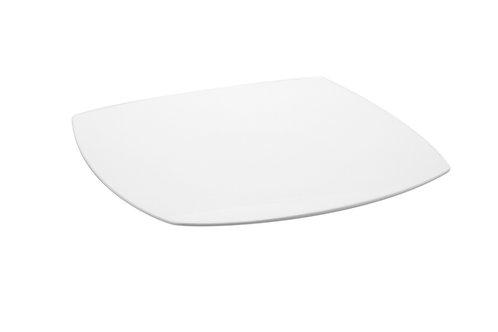 Vanilla Fare Square Dinner Plate