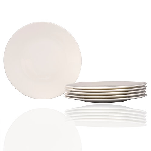 Extreme White Round Salad Plate