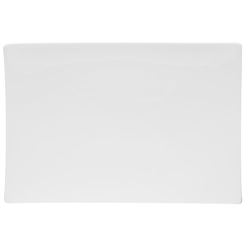 Extreme White Rectangular Platter