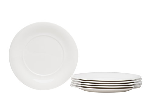 "Hospitality White Round Salad Plate 8.5"""