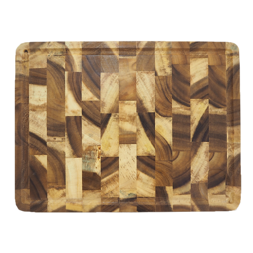 Natura Rectangular Acacia Wood Cutting Board
