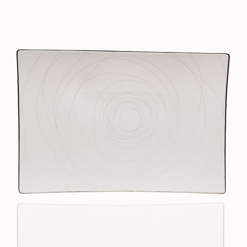 Orbit Rectangular Platter