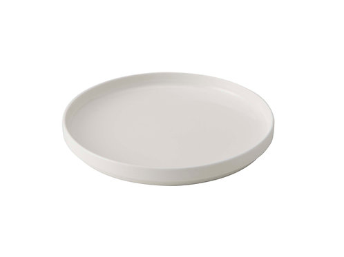Uptown White Salad Plate