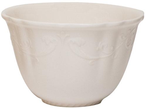 Country Estate White Fruit Bowls 18oz Set/4