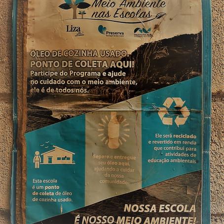 A Coleta do Óleo:                          meio ambiente e mobilização de recursos de mãos dadas