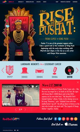 Pusha T Microsite