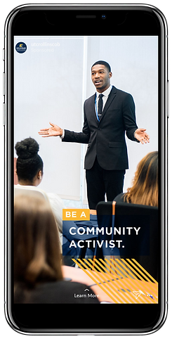 be a community activist