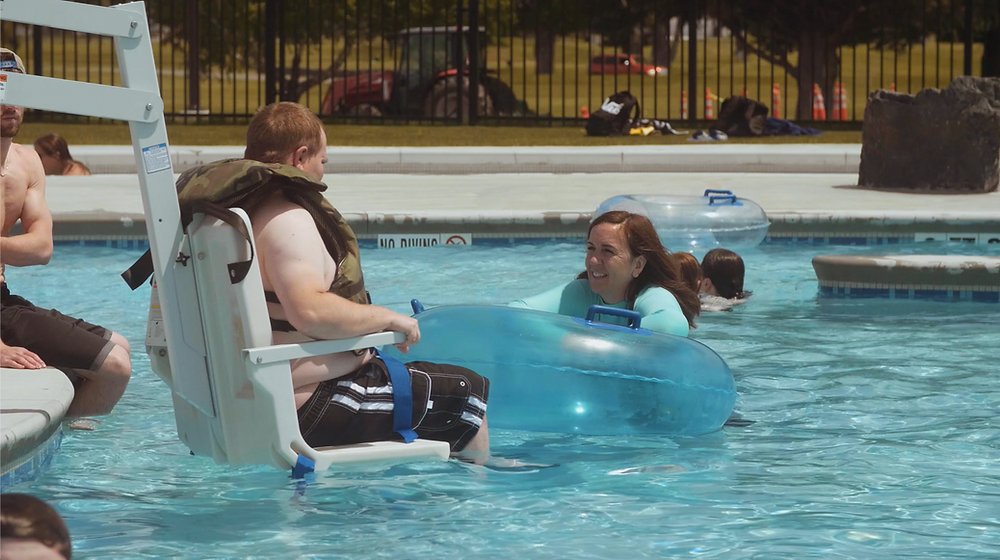 inclusive community swimming pool - Butte MT