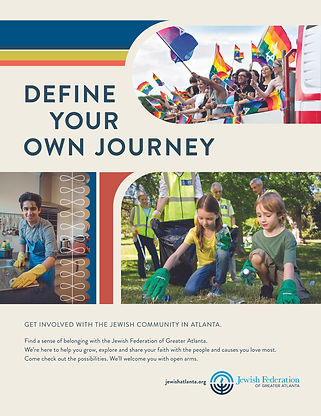 Jewish Federation - define your own journey