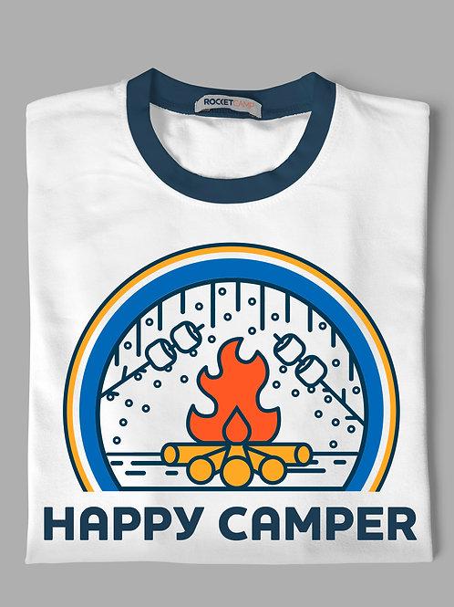 Happy Camper - Campfire Navy