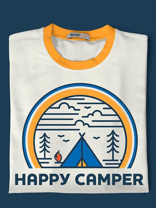 Happy Camper - Tent Yellow