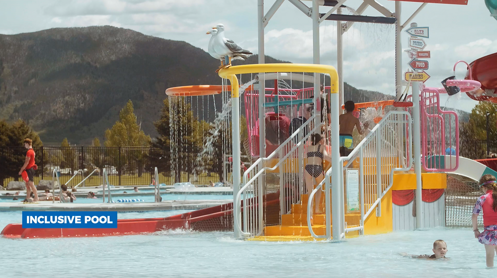 Inclusive all-abilities pool - Butte, MT