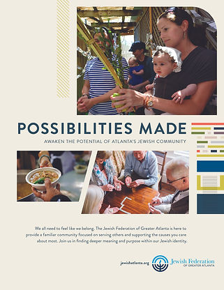 Jewish Federation - possibilities made
