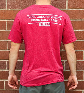 Think great thoughts. Drink great beer. Red Brick.