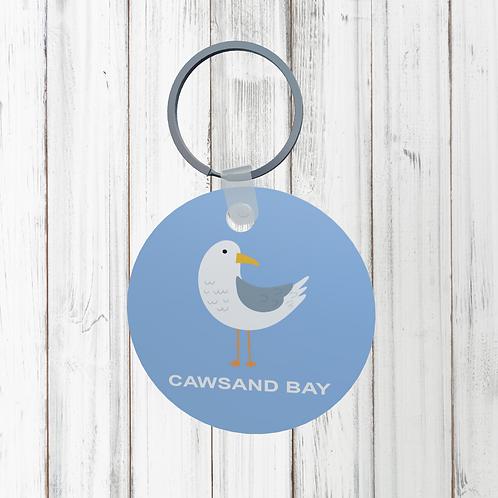CAWSAND BAY DESIGN KEYRING