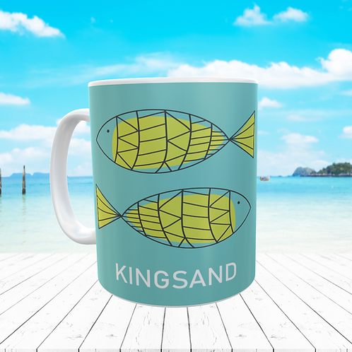 KINGSAND FISH MUG